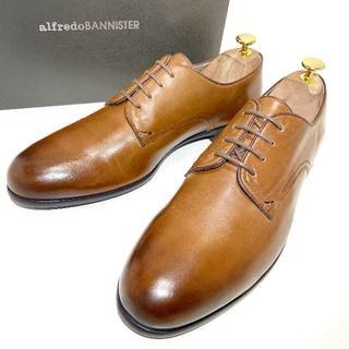 alfredoBANNISTER - ◎新品【alfredoBANNISTER】ビジネスシューズ 革靴 プレーントゥ