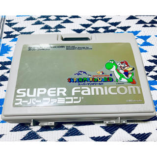 スーパーファミコン(スーパーファミコン)の任天堂 スーパーファミコン キャリングケース スーパーマリオワールド(その他)