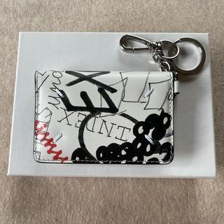 マルタンマルジェラ(Maison Martin Margiela)の新品 メゾン マルジェラ グラフィティ キーリング 折り財布 カードケース(財布)
