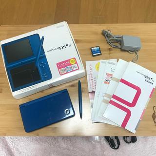 ニンテンドーDS - ニンテンドーDSLL ブルー 青 ニンテンドー ラブプラス メモリ2GB付き