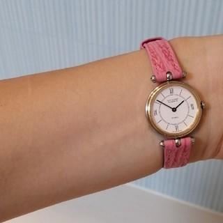ヴァンクリーフアンドアーペル(Van Cleef & Arpels)のヴァンクリーフ&アーペル ラコレクション☆確認画像 腕時計  クォーツ(腕時計)