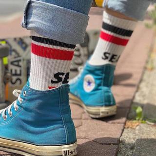 シー(SEA)のwind and sea  sox ソックス wds ウィンダンシー (ソックス)