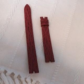 ヴァンクリーフアンドアーペル(Van Cleef & Arpels)の未使用品☆ヴァンクリーフ&アーペル 腕時計 替えベルト 赤色 レッド 純正品(腕時計)