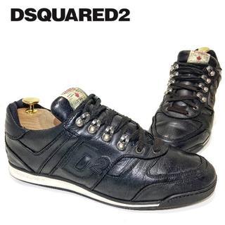 ディースクエアード(DSQUARED2)の◎高級スニーカー【D SQUARED2】革靴 メンズ 男性 D2 レザー(スニーカー)