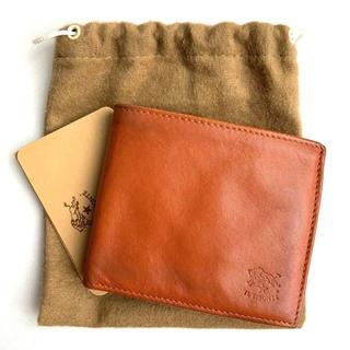 イルビゾンテ(IL BISONTE)のイルビゾンテ IL BISONTE 二つ折り財布 ヤケヌメ(折り財布)