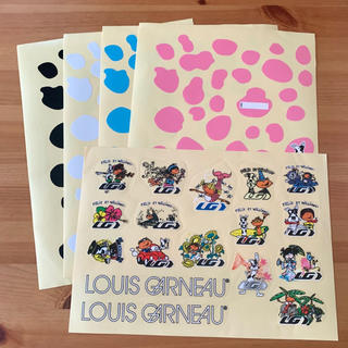 ルイガノ(LOUIS GARNEAU)の【未使用品】LOUIS GARNEAU ステッカー5枚セット(その他)
