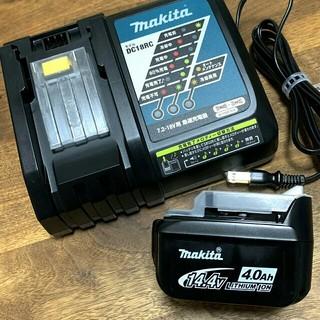 Makita - 【新品/国内正規品】マキタバッテリーBL1440&充電器DC18RCセット