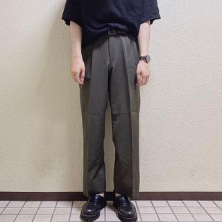 ラッドミュージシャン(LAD MUSICIAN)のused wide straight slacks(スラックス)