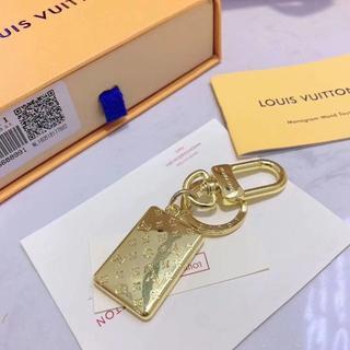 ルイヴィトン(LOUIS VUITTON)の正規品 LVキーリング(キーホルダー)