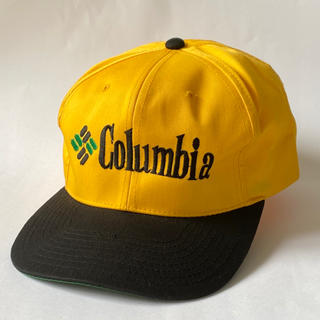 コロンビア(Columbia)のコロンビア Colombia キャップ メンズ 黄色(キャップ)