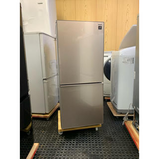 シャープ(SHARP)の2018年製 シャープ SHARP プラズマクラスター 137L 冷蔵庫(冷蔵庫)