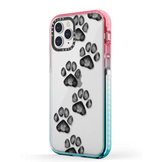 iPhone - casetify iPhone 11 Pro Max ケース 猫 犬 肉球 足跡