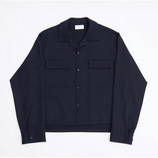 アンユーズド(UNUSED)のryo takashima オープンカラーシャツ ネイビー(シャツ)