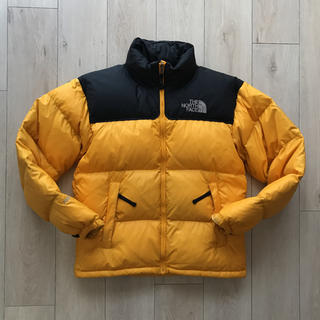 THE NORTH FACE - ノースフェイス700フィルオレンジイエロー黄色ヌプシダウンジャケット