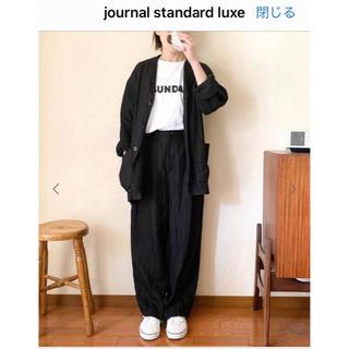 ジャーナルスタンダード(JOURNAL STANDARD)のjounal standard luxeリネンツイルパンツsunday(その他)