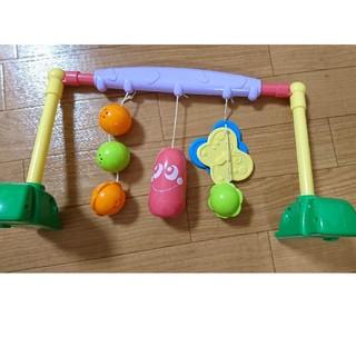 新生児から遊べるメリーはこれだけ プレイジム(ベビージム)