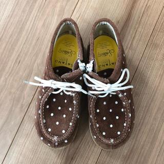 こども ビームス - smoothy × Sayang コラボ ワラビー靴