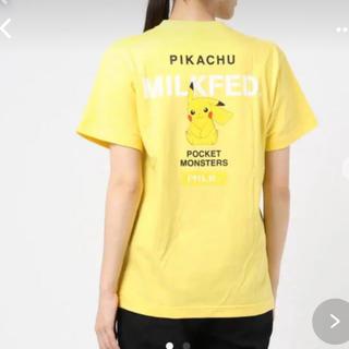 ミルクフェド(MILKFED.)のミルクフェド ピカチュウ Tシャツ(Tシャツ(半袖/袖なし))