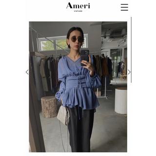 Ameri VINTAGE - MEDI Relaxing Elegant Blouse