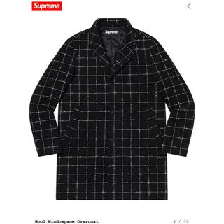 シュプリーム(Supreme)の19AW Supreme Wool Windowpane Overcoat (チェスターコート)
