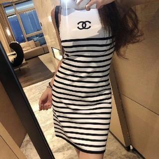 CHANEL - ニットベストスカート レディース半袖Tシャツ