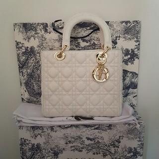 Christian Dior - Dior レディディオールホワイト ゴールド金具