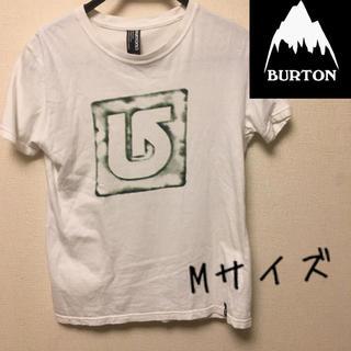 バートン(BURTON)のBURTON ロゴTシャツ Sサイズ 緑 ループ 送料無料(Tシャツ/カットソー(半袖/袖なし))