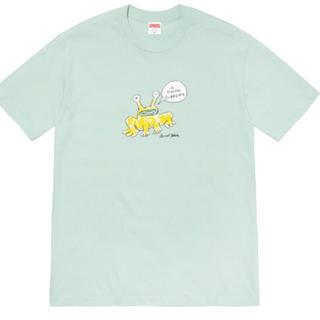 シュプリーム(Supreme)のsupreme daniel johnston frog teeフロッグTシャツ(Tシャツ/カットソー(半袖/袖なし))