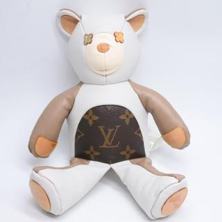 ルイヴィトン(LOUIS VUITTON)のルイヴィトン クマ ドゥドゥ ルイ テディベア 美品 GI0142 完売品 正規(ぬいぐるみ/人形)