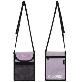 ミルクフェド(MILKFED.)の新品♪ ミルクフェド ☆ フラット ショルダーバッグ ☆ サコッシュ(ショルダーバッグ)
