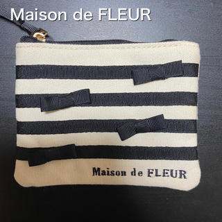 Maison de FLEUR - 新品未使用 メゾンドフルール ティッシュケース ポーチ