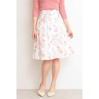 プロポーションボディドレッシング(PROPORTION BODY DRESSING)のガーデンチューリップフレアースカート(ひざ丈スカート)