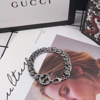グッチ(Gucci)の♥新品♥未使用 グッチGucci ブレスレット スターリング シルバー(ブレスレット)
