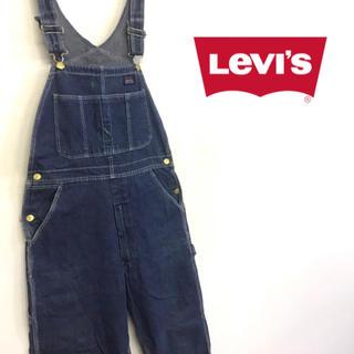 リーバイス(Levi's)の美品 US製 90's Levi's デニム オーバーオール (サロペット/オーバーオール)