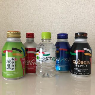 コカコーラ(コカ・コーラ)の東京2020オリンピック聖火リレー 限定デザインボトル(ミネラルウォーター)