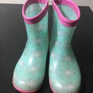 アナと雪の女王 - キッズ 長靴 レインブーツ アナ雪 19cm