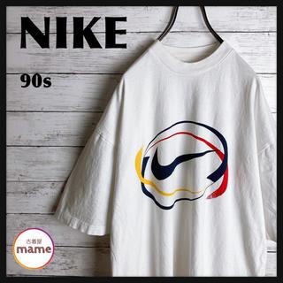 NIKE - 【激レア‼︎】NIKE◎90s 白タグ ビッグスウォッシュ Tシャツ