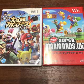 Wii - 大乱闘スマッシュブラザーズ Xとニュースーパーマリオブラザーズwii