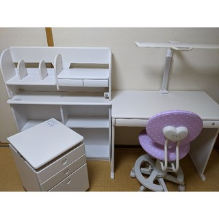 コイズミ(KOIZUMI)のコイズミ 学習机セット(学習机)