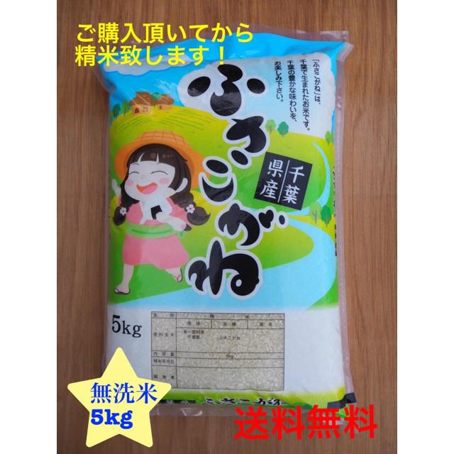 ふさこがね  無洗米 5kg 食品/飲料/酒の食品(米/穀物)の商品写真