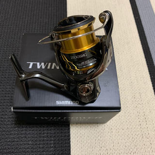 シマノ(SHIMANO)のシマノ 20ツインパワーs2500HG(リール)