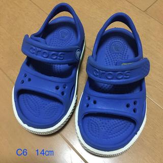 crocs - クロックス サンダル 青