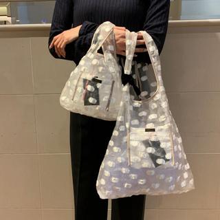 LUDLOW - demodee デモデ 新作完売品 Dot market bag(S)ホワイト