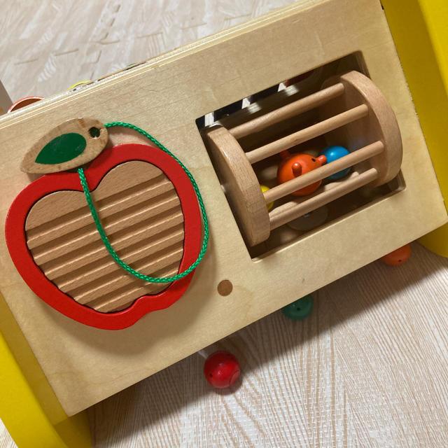 BorneLund(ボーネルンド)のEd.Inter 森の音楽会 鉄琴 知育玩具 木製玩具 楽器 キッズ/ベビー/マタニティのおもちゃ(楽器のおもちゃ)の商品写真