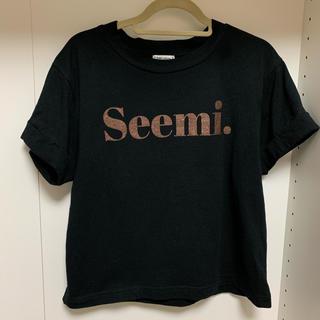ワンアフターアナザーナイスクラップ(one after another NICE CLAUP)のseemi tシャツ 新品未使用(Tシャツ/カットソー(半袖/袖なし))