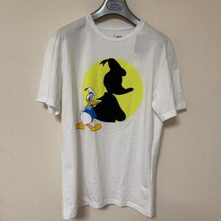 ザラ(ZARA)の新品 ZARA ドナルドダック Tシャツ M(Tシャツ/カットソー(半袖/袖なし))