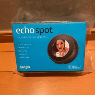 あやぴん様専用 echo spot  スクリーン付きスマートスピーカー(スピーカー)
