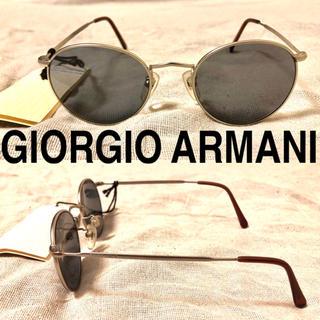 ジョルジオアルマーニ(Giorgio Armani)のGIORGIO ARMANI サングラス ボストン メタルフレーム タグ付き(サングラス/メガネ)