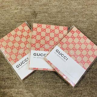 グッチ(Gucci)の【新品】GUCCIグッチノート3冊(ノート/メモ帳/ふせん)