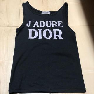 クリスチャンディオール(Christian Dior)のdior DIOR タンクトップ(タンクトップ)